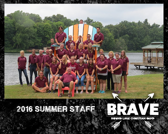 2016 Summer Staff