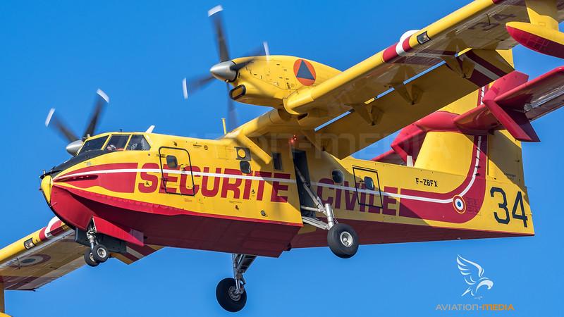 Securite Civile / Canadair CL-415 / F-ZBFX 34