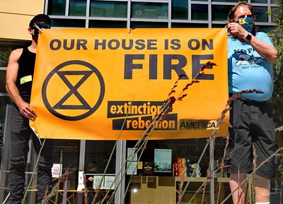 "Sep 21 San Francisco Extinction Rebellion ""We Want to Live"""