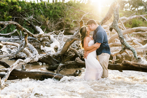 Kaitlyn and Taylor's Engagement Session   Big Talbot Island