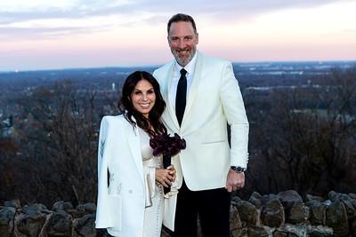 Green Brook Township, NJ - November 19:  The Wedding of Kathrine Hollander and Terry Camp, Green Brook Township, USA.