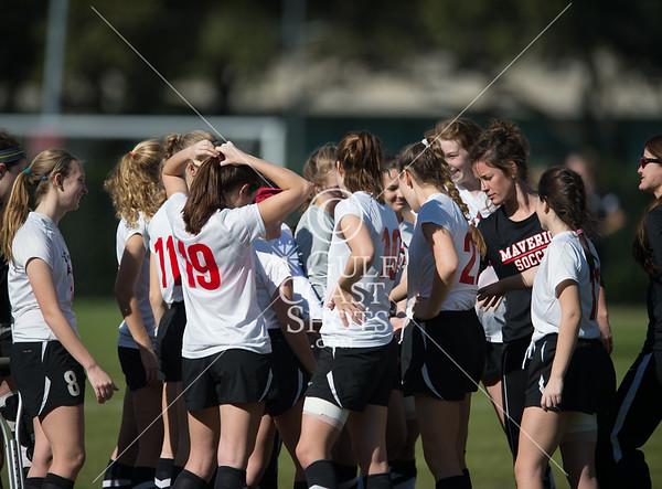 2015-01-17 Soccer Varsity Girls St. Andrews @ SJS