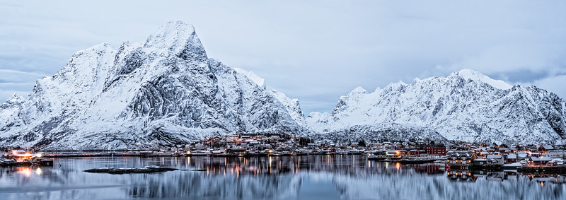Lofoten at Dusk