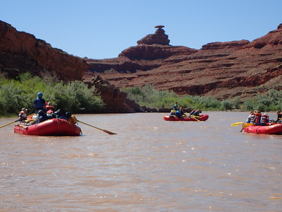 San Juan River trip: Eighth Grade Outdoor Ed 2019