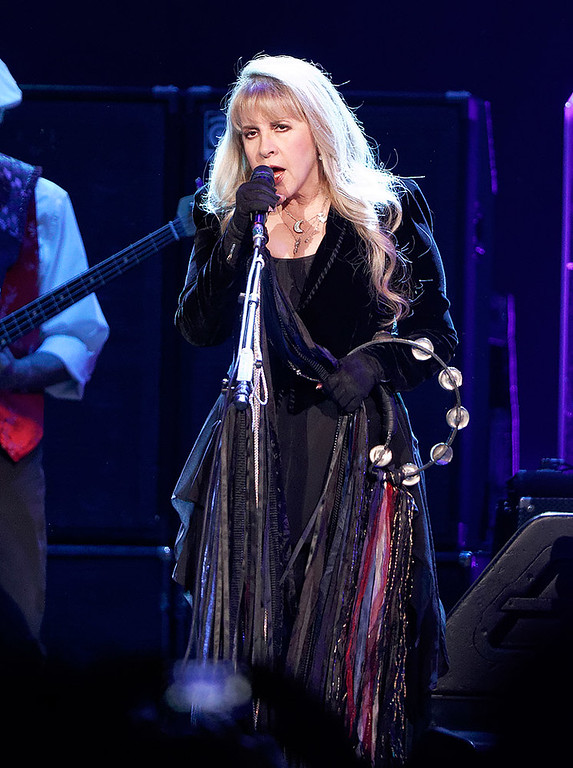 . Stevie Nicks sings with Fleetwood Mac on Wednesday, Oct. 22, 2014, at The Palace of Auburn Hills. Photo by Ken Settle-Special to The Oakland Press
