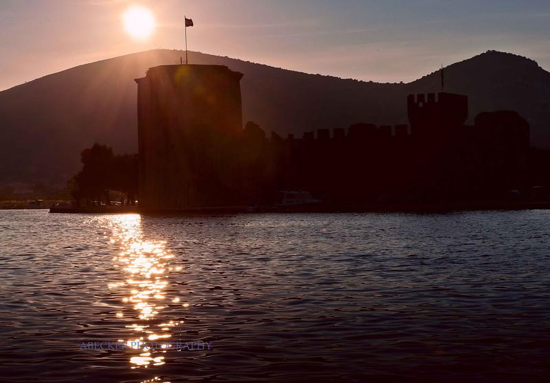 Sunset at Trogir Fort.jpg