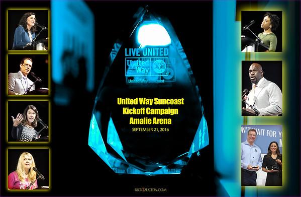 2016 United Way Campaign Amalie Arena