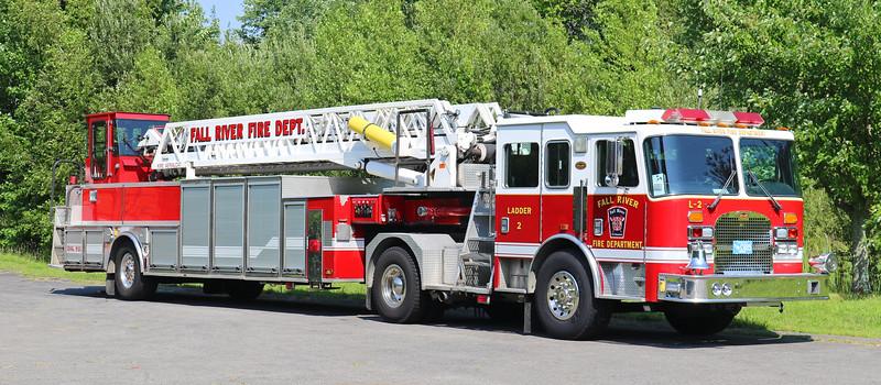 Retired   Ladder 2.  1998 KME  100TT