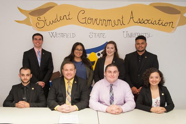 SGA Executive Council, Oct 2017
