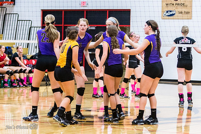 HS Sports - DeForest JV Volleyball - Sept 24, 2015