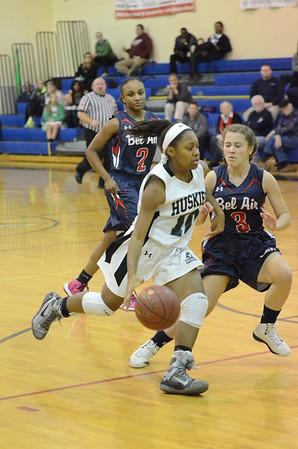 Varsity Girls Basketball Jan 14 vs Bel Air