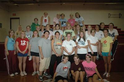 High School Classes - 2005-2006 - Julie Gardenour's Physical Education Class