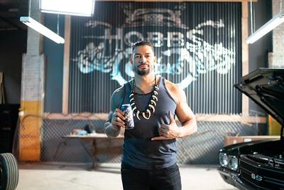 Roman Reigns  Candids / Brisk Commercial