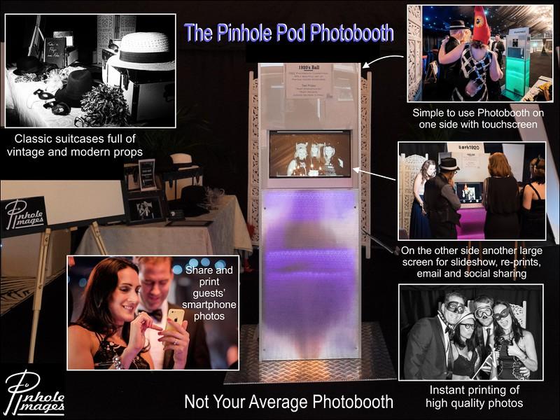 Pinhole Images Photobooth Marketing Postcards