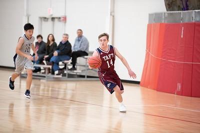 1/9/19: Boys' JV Basketball v Kent