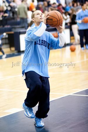 James Wood vs Millbrook Boys Basketball