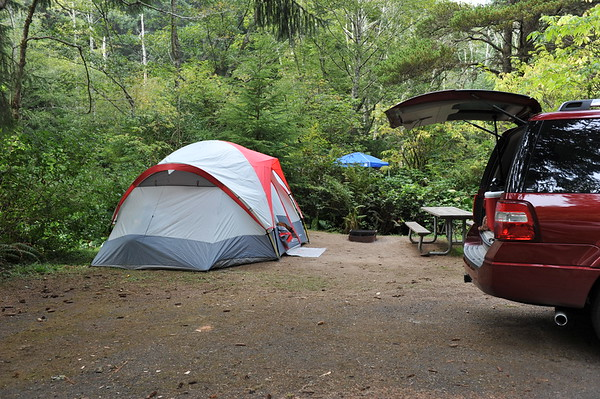 Sunset Beach State Park Campground