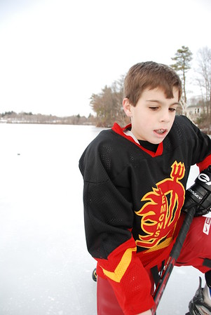 January 26, 2008 - Pond Hockey