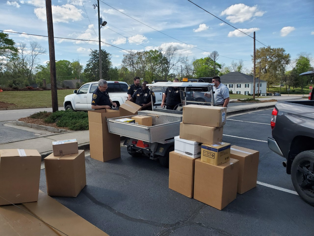 Image for Georgia College provides medical supplies to combat COVID-19 statewide