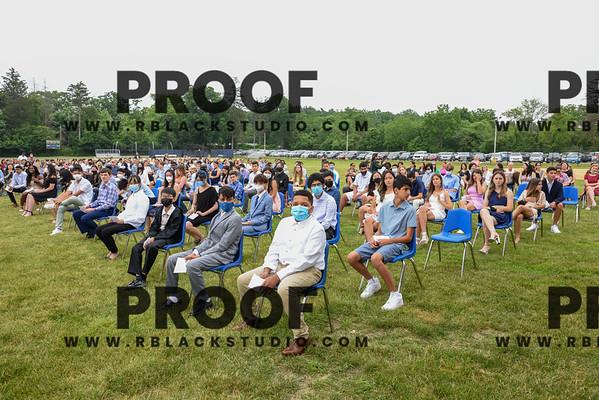 Jericho Middle School Class of 2021 11 am graduation