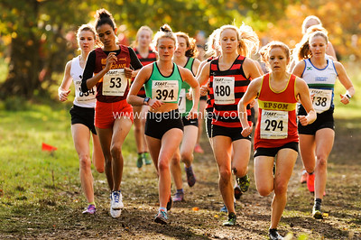 Surrey XC Women's race 2 - 10 Nov 2018