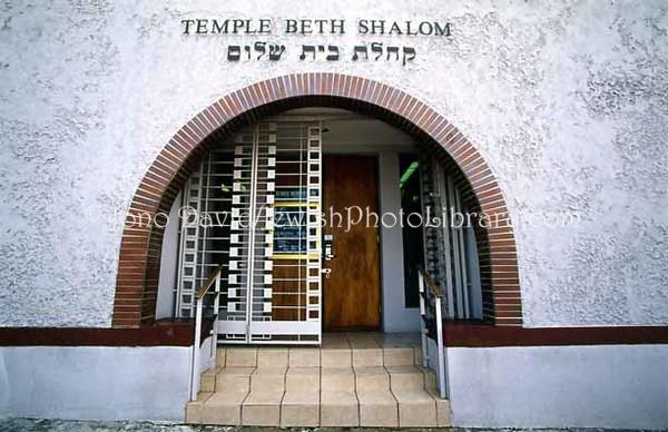 PUERTO RICO, San Juan. Temple Beth Shalom. (2005)