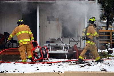 02-08-13 Coshocton FD House Fire