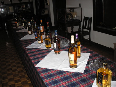 Taste of Scotland Whisky Tasting—Oct. 18, 2013