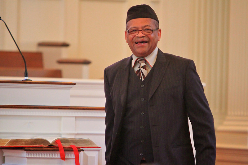 """C.O. & Eliza Greene Lecture Series at Gardner-Webb University hosts Dr. J. Alfred Smith, Sr. on March 28, 2011, who speaks here a message entitled, """"The Justice Itinerary of Jesus Christ: Toward Adoption, Replication, and Implementation."""""""