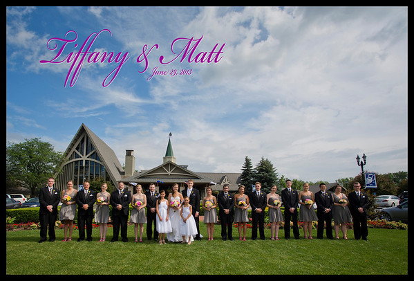 Tiffany Moyer & Matt Brodersen Wedding Gallery