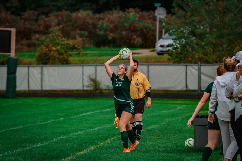 Holy Family Girls Varsity Soccer vs. Shakopee, 9/21/19: Noelle Trombley '21 (33)