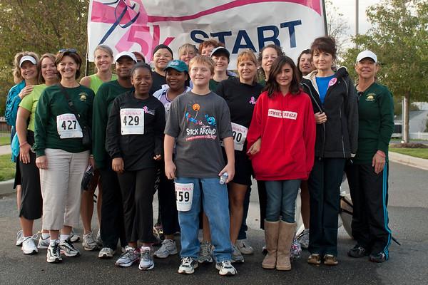 10/1/2011 10-01 5K Run in Calvert for  Breast Cancer