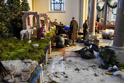 2017 Setting Up  the Creche