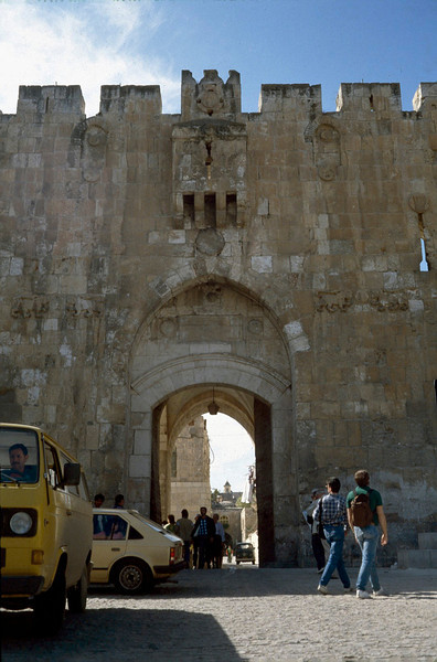 another gate into old Jerusalem