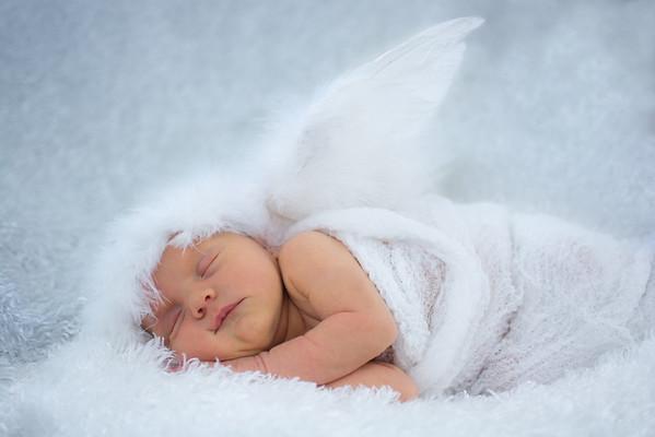 Baby Quinn Newborn photos