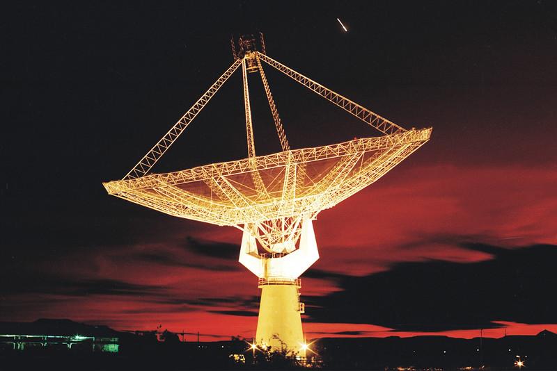 The Giant Metrewave Radio Telescope (GMRT), located near Pune in India