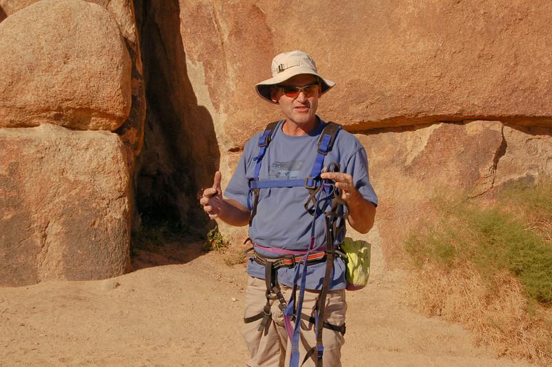 Aid Climbing with MARK WILFORD (Patagonia), Short Wall. The basic skills necessary for big walls.