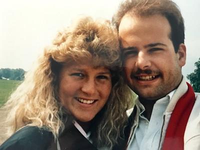 Diana and Todd Honeymoon 1987