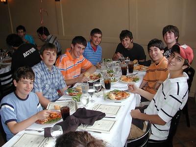 GOYA Senior Dinner - May 31, 2006