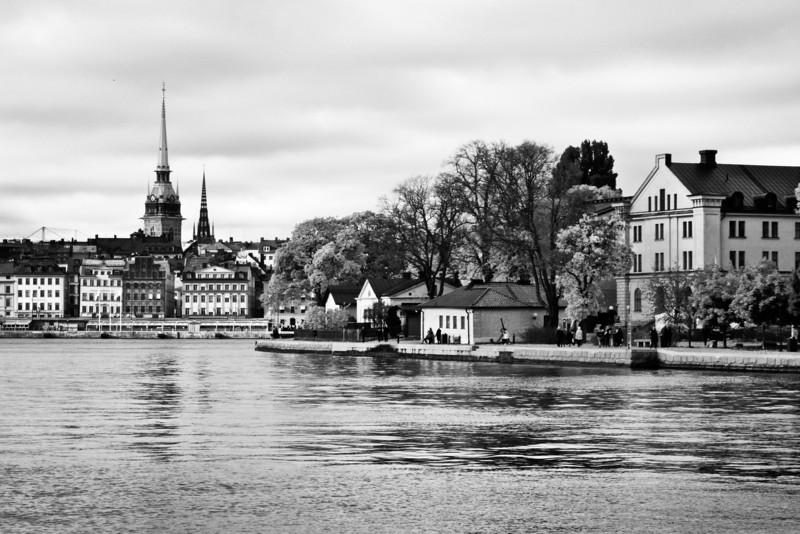 Stockholm City View / Вид на город Стокгольм