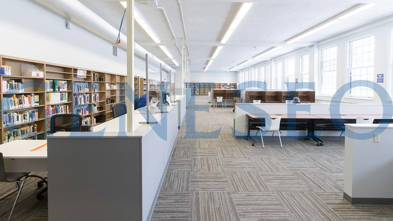 Fraser Library Renovation (Photos by KW + CV)