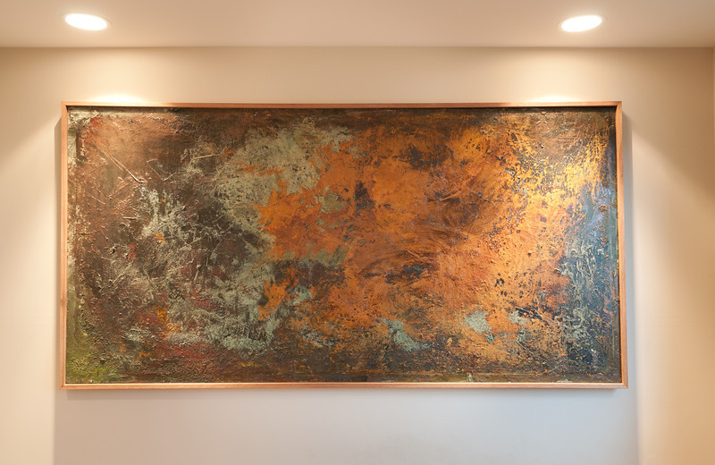 4ft x 8ft on canvas