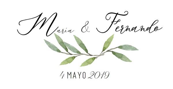 MARIA & FERNANDO 04/05/2019