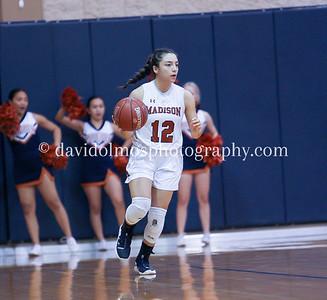 Varsity Girls Basketball vs Canyon 121319
