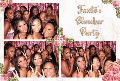 Fanta's Slumber Party