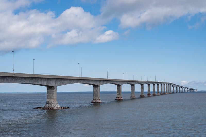 The 12.9 KM Confederation Bridge
