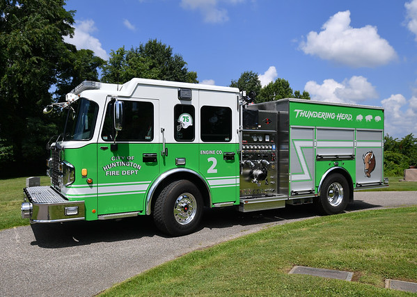07.09.19 Huntington FD truck-Marshall Green