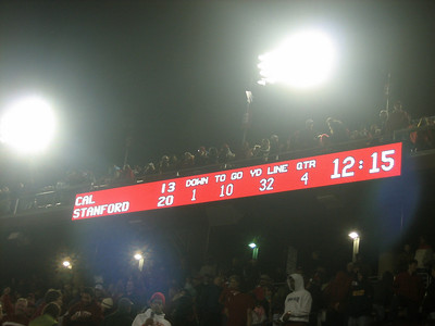 Big Game 2007 - The Axe Returns to Stanford