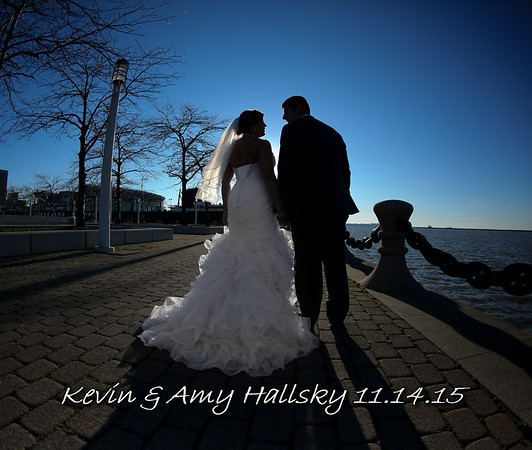 Amy & Kevin 13x11 Wedding Album