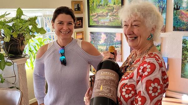 20201111 Christine's Fabulous Birthday and Art Gallery Opening